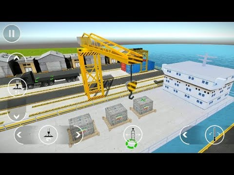 Drive Simulator   Load concrete Crate #6   Android Game Play