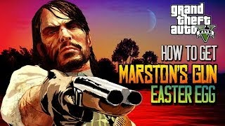 GTA 5: HOW TO GET JOHN MARSTON'S GUN EASTER EGG! FIND JOHN