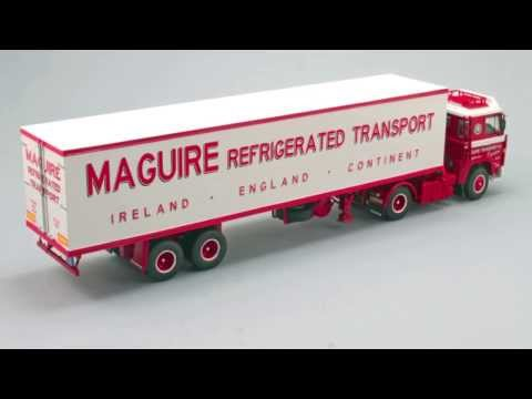 Model Truck World: Maguires Transport Scania 111