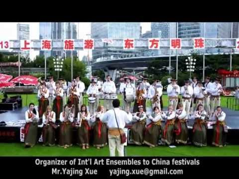 2013 Shanghai Tourism Festival - Poland Folk Brass Band (C)
