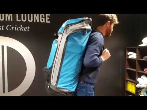 Kookaburra Pro D2 Duffle Bag (Teal/Grey)
