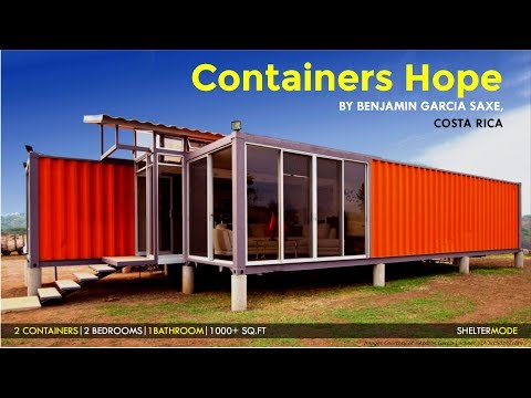 Containers of Hope | $40,000 Costa Rican Container House by Benjamin Garcia Saxe Architecture