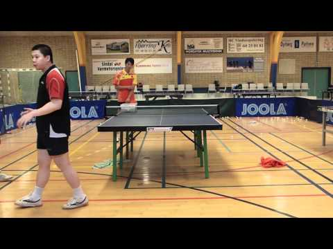 Table Tennis - Chinese Footwork Part 3 - Pivot And Cross Step