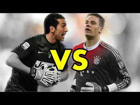 Gianluigi Buffon VS Manuel Neuer - Who is the best? | Amazing Saves Compilation HD