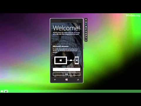 Video thực tế Emulator trong Windows Phone 8.1 SDK
