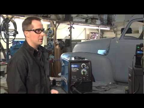 Features and Benefits of the Millermatic®  211 Auto-Set™ with MVP™ MIG welder