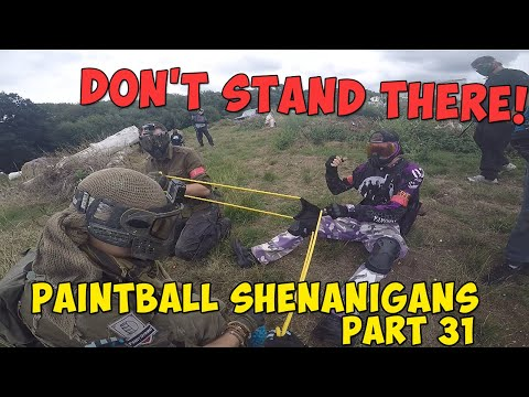 PAINTBALL FUNNY MOMENTS & FAILS  ► Paintball Shenanigans (Part 31)