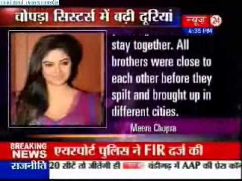 Meera Chopra calls Parineeti remarks