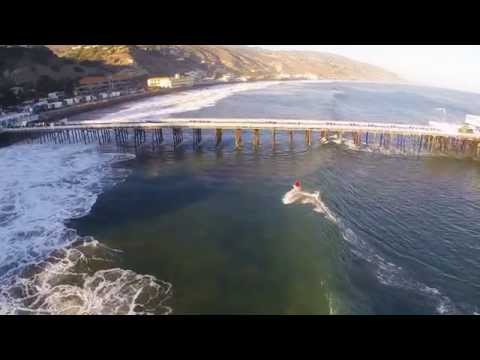Shooting the Pier at Malibu, CA - Drone Footage