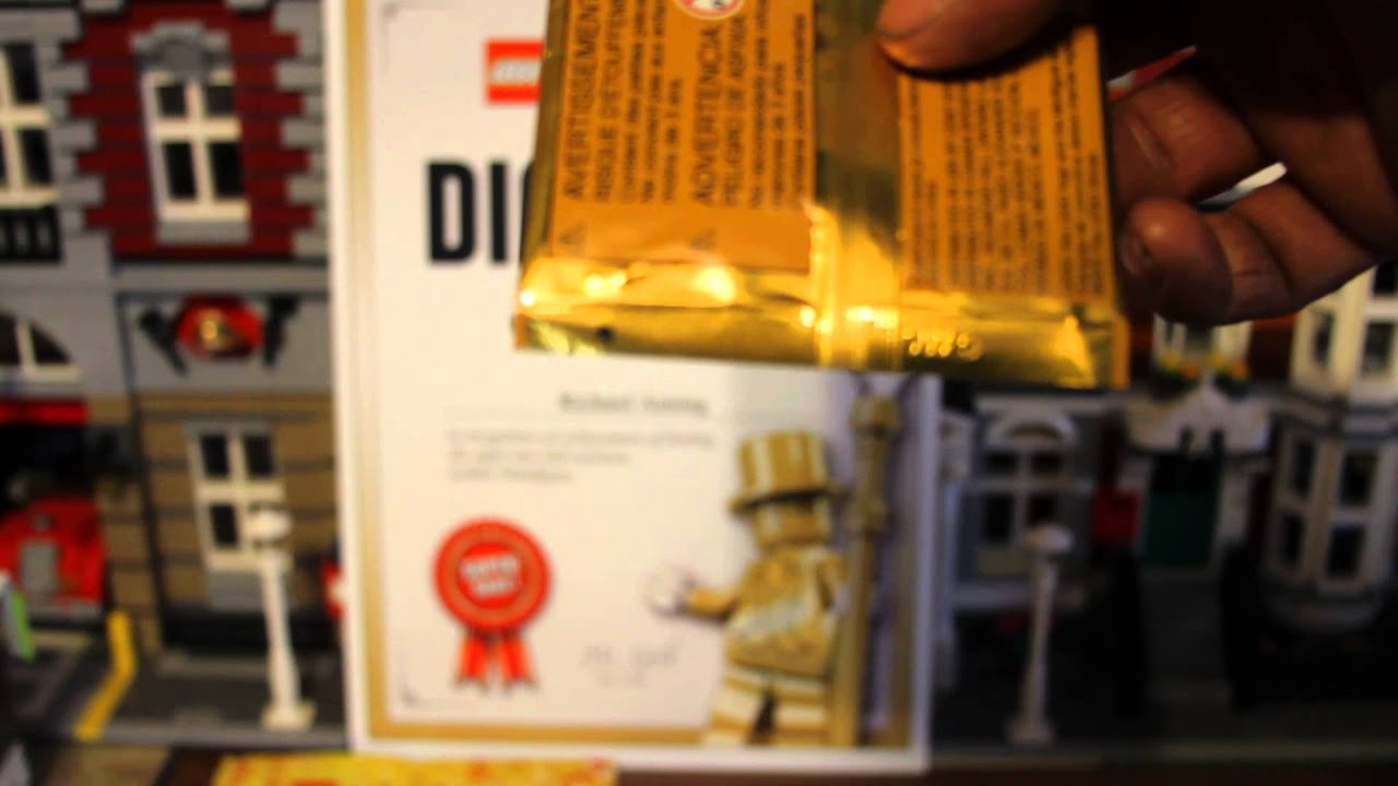 Bump Code For Mr Gold Lego | Autos Weblog