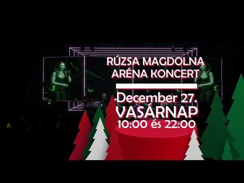 Rúzsa Magdi koncert - Xmas edition @H!T Music Channel