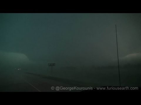World's Largest Tornado - El Reno, Oklahoma EF-5  May 31, 2013
