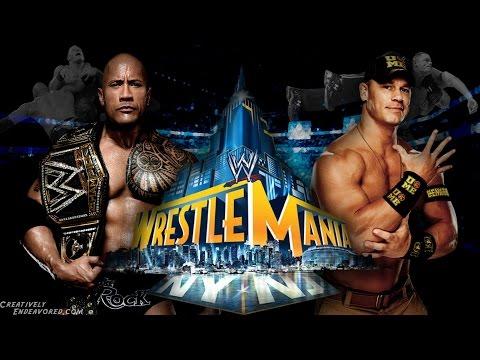 Đại Chiến WWE - John Cena Vs The Rock - Quái Vật Vs Huyền Thoại Phần 1