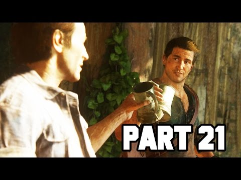 THE SINKING CITY!! Uncharted 4 Gameplay Walkthrough Part 21 - Chapter 14 (PS4 1080p HD)