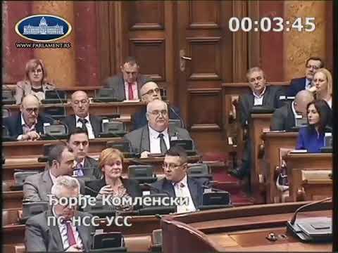 Ђорђе Комленски о споменику Слободану  Милошевићу 13.03.2018.