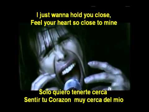 AEROSMITH- I DON'T WANNA MISS THING -HD SUBTITULADA
