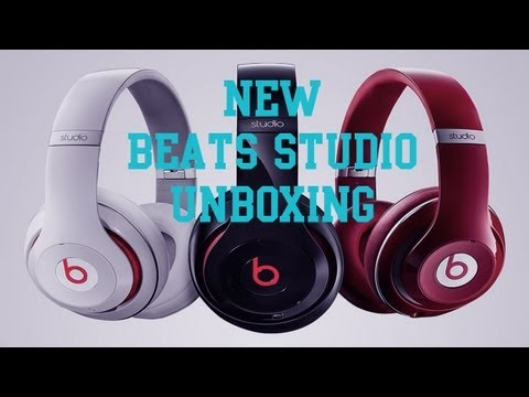 The New Dr. Dre Beats Studio Unboxing by aFUllMeTal MUTT