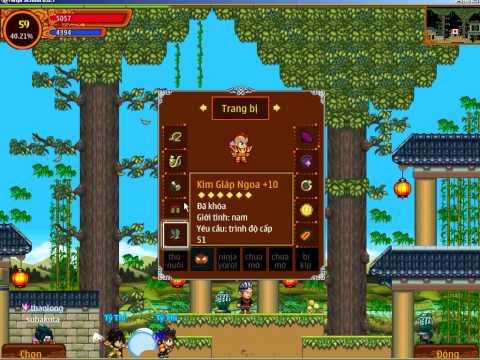 Nhân vật bupsenxanh - Ninja School Online