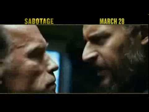 SABOTAGE - TV Spot # 1 (Schwarzenegger) HQ 2014 Movie