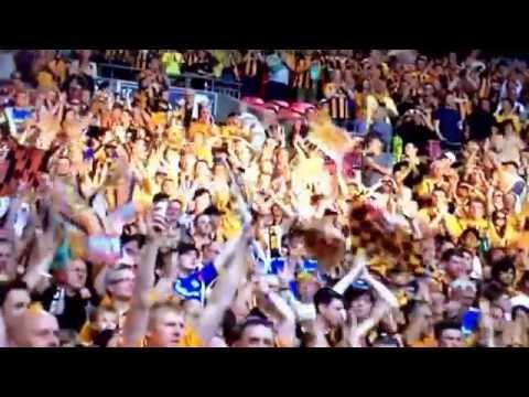 Arsenal 3-2 Hull City FA Cup 17/5/14 Goals & Highlights