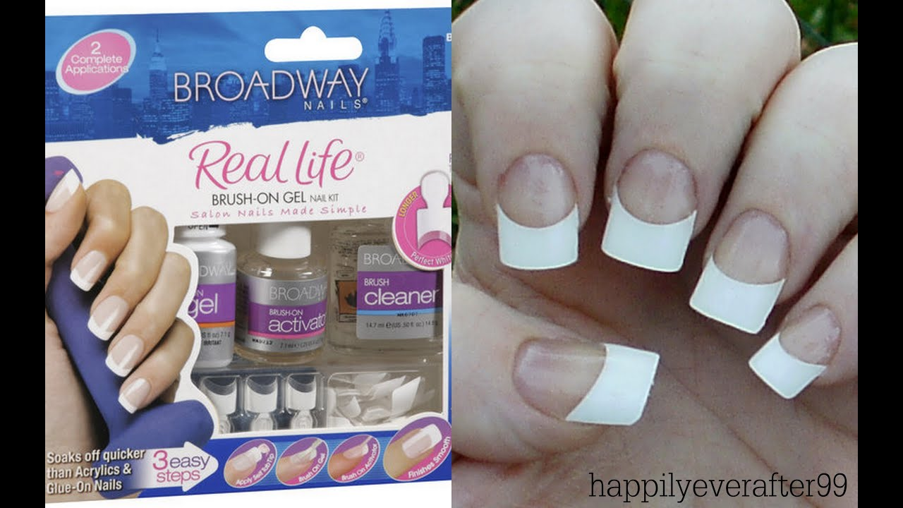 Broadway Gel Nails Kit Review/Demo - YouTube