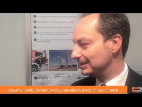 Giovanni Favilli, Console Generale, Consolato Generale Italiano a Dubai