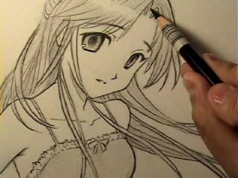 "How to Draw an Innocent-Looking Manga Girl [HTD Video #11], OFFICIAL CRILLEY PLAYLIST: _http://tinyurl.com/d3rx7fg All 3 ""Brody's Ghost"" books at Amazon: http://tinyurl.com/7dyeoer ""Mastering Manga"" book at Amazon: ht..."