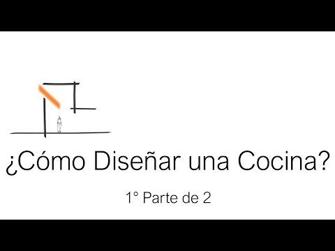 ¿Cómo Diseñar una Cocina? How to design a kitchen? -Tutorial