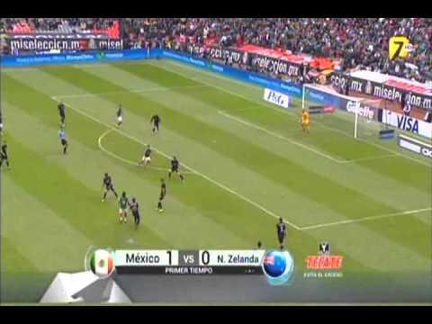 México Vs. Nueva Zelanda || Repechaje Rumbo a Brasil 2014 [Ida] 13/11/2013 [Partido Completo]