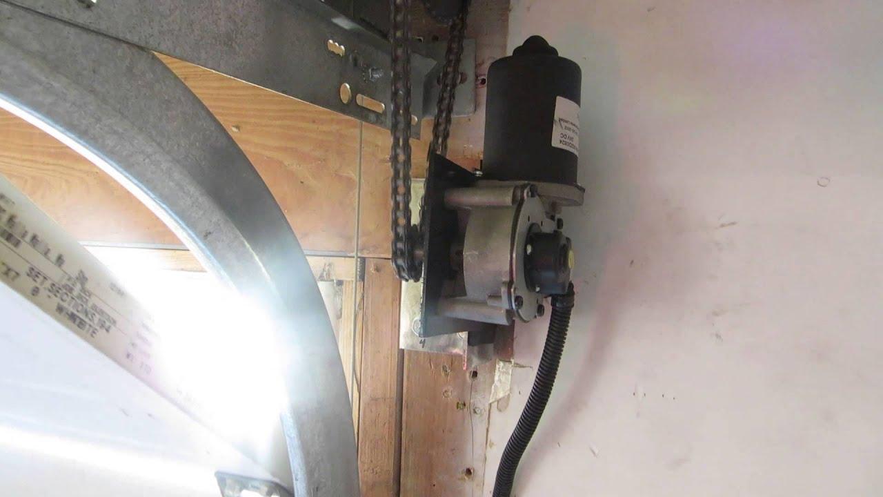 Genie side mount garage door opener jackshaft zap