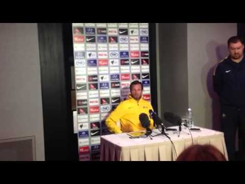 Lucas Neill Socceroos vs Canada pre-match Press Conference: Part 2