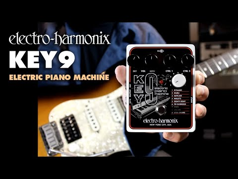 Electro Harmonix Key 9 Electric Piano Machine Effects Pedal for Guitar