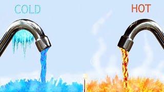 [Có thể bạn chưa biết] Bạn nên tắm bằng nước nóng hay nước lạnh?