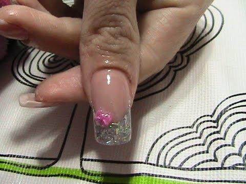 Principiantes: Tutorial de cómo hacer relleno uñas acrílicas (dsf) y nuevo diseño