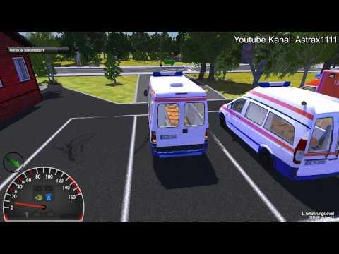 Gameplay - Rettungswagen Simulator 2012 - HD (1080p)