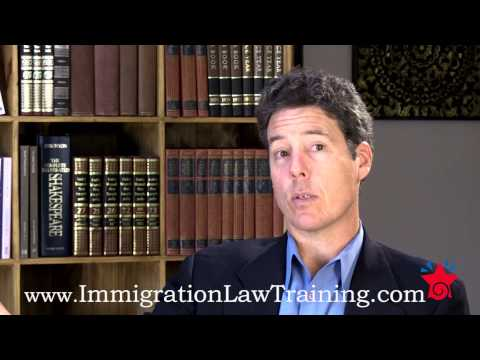 IMMIGRATION LAW TRAINING COURSE -- INTRODUCTION