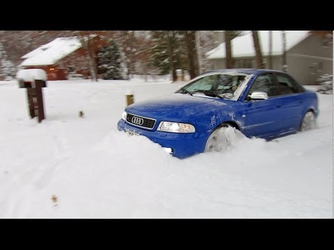 500 hp Audi S4 quattro vs 12