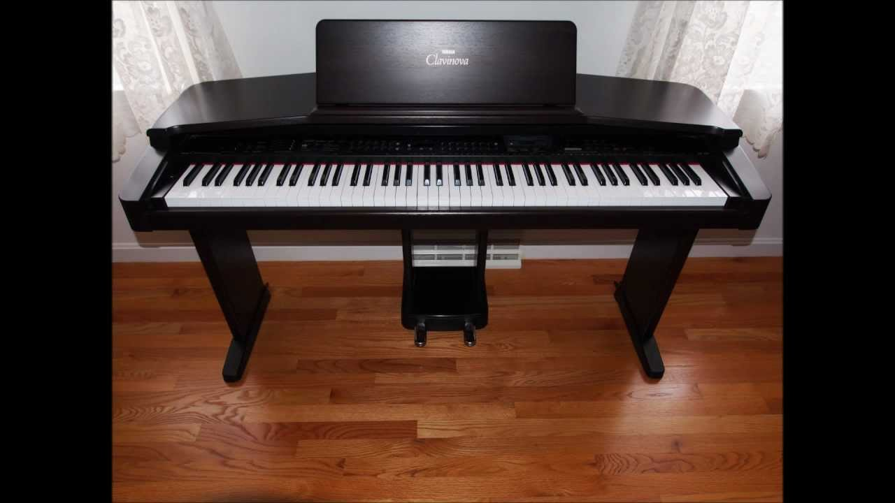 yamaha clavinova cvp 85a 88 keys advanced wave memory. Black Bedroom Furniture Sets. Home Design Ideas