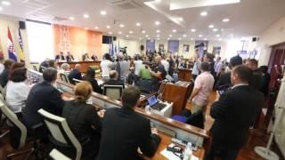 Predsjednici Josipović, Nikolić, Vujanović i predsjedatelj Izetbegović u Mostaru