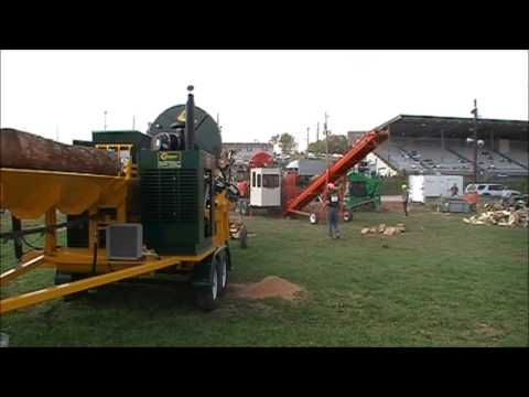2012 Firewood Processor Shootout - Cord King vs Multitek