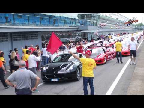 GO MICHAEL... i Ferrari Clubs in pista per Schumacher 15 giugno 2014