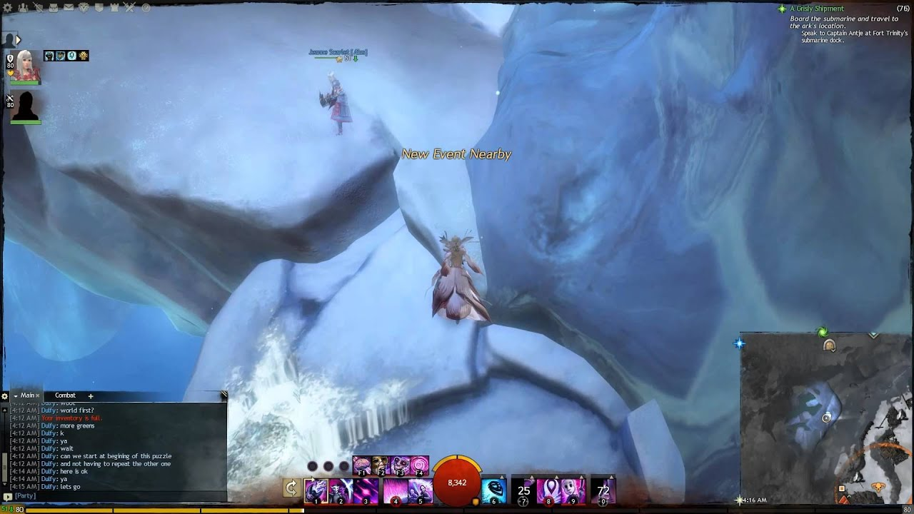 Gw2 Tribulation Caverns Jumping Puzzle Guide Youtube