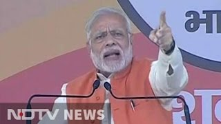PM Narendra Modi Warns Those Stashing Black Money Into Jan..
