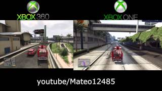 GTA 5 Xbox One Gameplay Leaked Graphics Compared To Xbox