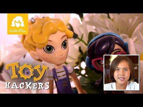 Ep 12: Toy Hackers, Spy Flowers (JillianTubeHD & GoldieBlox)