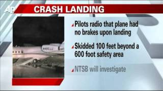 Plane Carrying Nascar Owner Crash Lands in Fla.