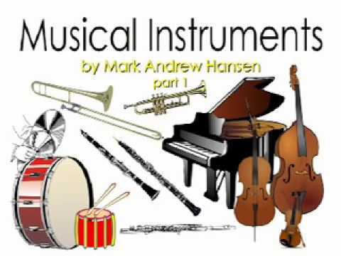 "Musical Instrument Sounds for Kids part 1 (Inspired by ""Peter and the Wolf"") - Mark Andrew Hansen"