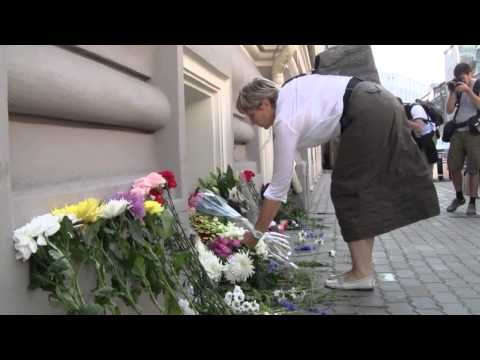 RUSSIA: Flowers Laid at Malaysian and Dutch Embassies in Moscow