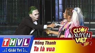 THVL | Cười xuyên Việt 2017 - Tập 13[1]: Joker Hồng Thanh khó xử khi phải lựa chọn vợ hay người yêu
