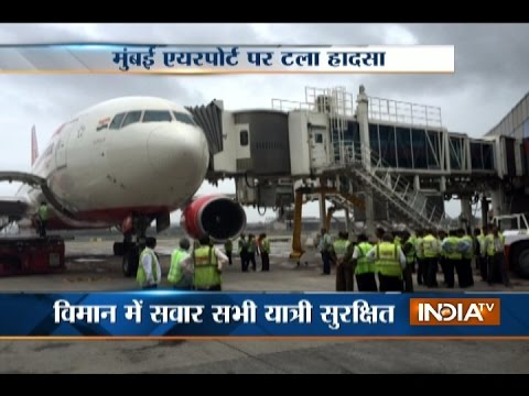 Riyadh bound Air India flight hits aerobridge at Mumbai Airport, take off